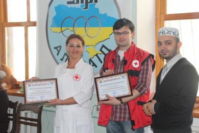 «Аль-Масар» и «Красный крест» обучают оказанию первой помощи