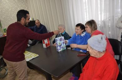 Украинские песни с восточным колоритом: визит харьковских мусульман в центр реабилитации