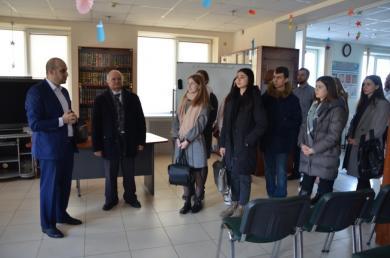 Студенты ХНУ им. В. Каразина в гостях в ИКЦ «Аль-Манар»