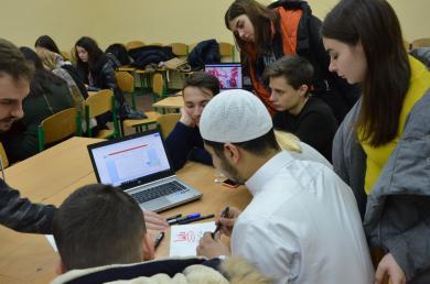 ІКЦ Дніпра та Харкова провели виїзні дні арабської мови