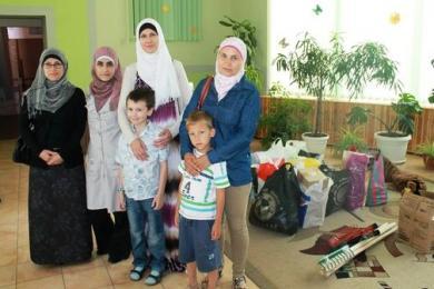 رمضان خاركيف وأوديسا.. عبادة وطاعة وزيارات إلى ملاجئ للعجزة والأيتام