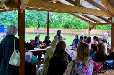 ЖО «Мар'ям» влаштувала пікнік для жінок та дітей