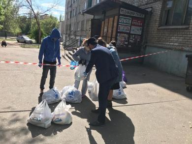 Запорізькі мусульмани долучилися до допомоги закритому на карантин гуртожитку