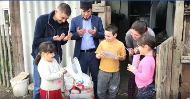 Очередной этап помощи нуждающимся мусульманам Херсонщины