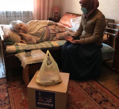 благотворительная акция запорожских мусульман