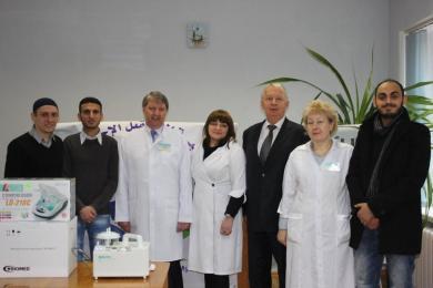 Найкраще — дітям: волонтери «Аль-Мустакбаль» продовжують допомагати дитячій лікарні