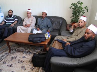 """8 أئمة من مصر والسعودية يشاركون """"الرائد"""" ومسلمي أوكرانيا إحياء شهر رمضان المبارك 1433هـ"""