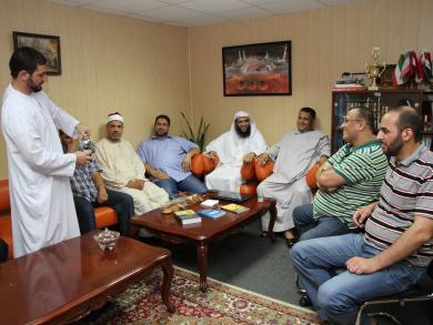 أجواء ونكهات مصرية سعودية في عدد من المساجد الأوكرانية