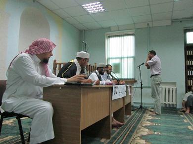 В мечети одесского ИКЦ впервые проведен конкурс исполнителей Азана