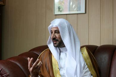 Известный иорданский шейх Мохаммад Нух аль-Кудах в гостях в киевском Исламском культурном центре