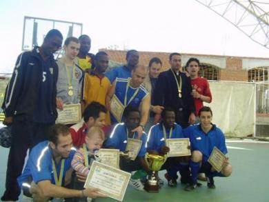 "The Social Organization ""Al-Masar"" organized a tournament on futsal among university students in Odessa"