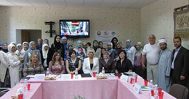 Роль женщины в обществе: обсуждение в Одесском Исламском центре