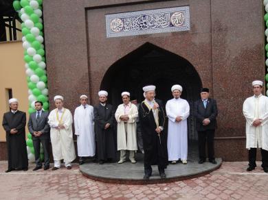 Соборная мечеть Донецка вновь открылась после реконструкции: ВАОО «Альраид» и ДУМУ «Умма» поздравляют донецких мусульман
