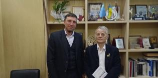 """We aim to consolidate Ukrainian Muslims"" - Seyran Aryfov meets with Mustafa Dzhemilev"