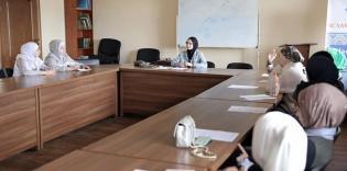 © Марьям: 31.05.2021., Киев, Исламский культурный центр. Лекция Виктории Нестеренко для подростков по противодействию буллинг