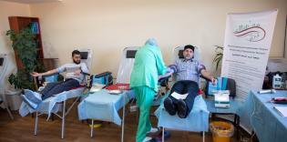 Під час акції «Здай кров — збережи життя» в ІКЦ Києва зібрали понад 25 літрів крови