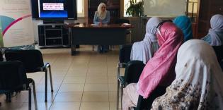 Запитай у шейхи: Анастасія Радовелюк провела семінар для мусульманок Харкова