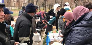 Долучайтеся до акції «Гарячий обід для безпритульних» у Запоріжжі!