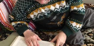 «Не хлебом единым»: продукты и книги для хосписа в Скибине