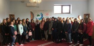 Зустріч зі студентами медколеджу в ІКЦ Запоріжжя