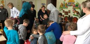 """Charity Department of SO """"Maryam"""" Visit an Orphanage in Pryluky"""