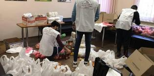 Мусульмане-волонтеры в Днепре продолжают помогать нуждающимся