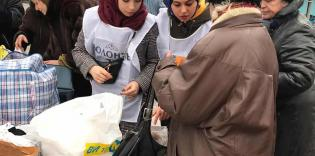 """""""Feed the Hungry"""" in Kharkiv and Zaporizhzhia: the Lower the Temperature Outside, The More People Come"""