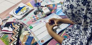 Активістки «Мар'ям» допомогли зібрати до школи 170 дітей з малозабезпечених родин