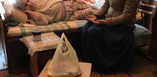 Продукты одиноким старикам на время карантина: благотворительная акция запорожских мусульман
