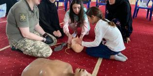 Надання першої домедичної допомоги: тренінг у столичному ІКЦ