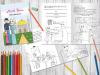 Нова книжка ісламських дитячих оповідань і розмальовка з дуа